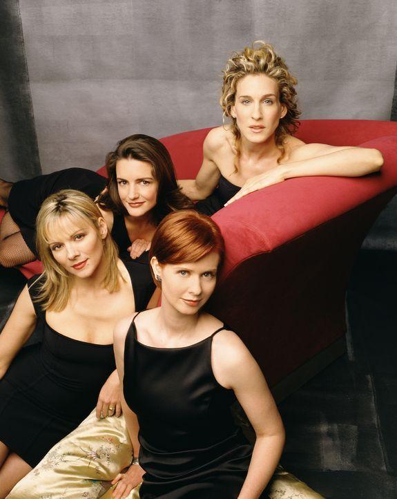 (1. Staffel) - (v.l.n.r.) Kann eine Frau Sex haben wie ein Mann? Haben Frauen in den Dreißigern besseren Sex mit jüngeren Männern? Diese und andere... - Bildquelle: Paramount Pictures