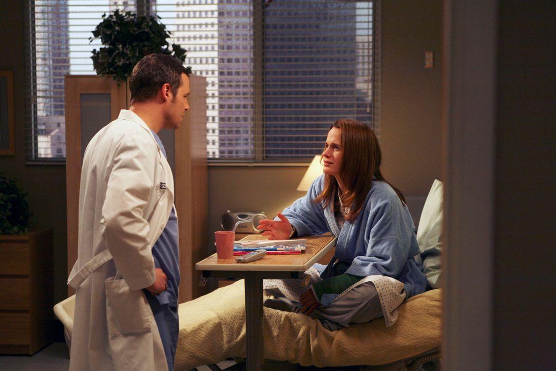 Alex (Justin Chambers, l.) hat herausgefunden, dass Avas (Elizabeth Reaser, r.) Gedächtnis schon seit längerer Zeit wieder tadellos funktioniert u... - Bildquelle: Touchstone Television