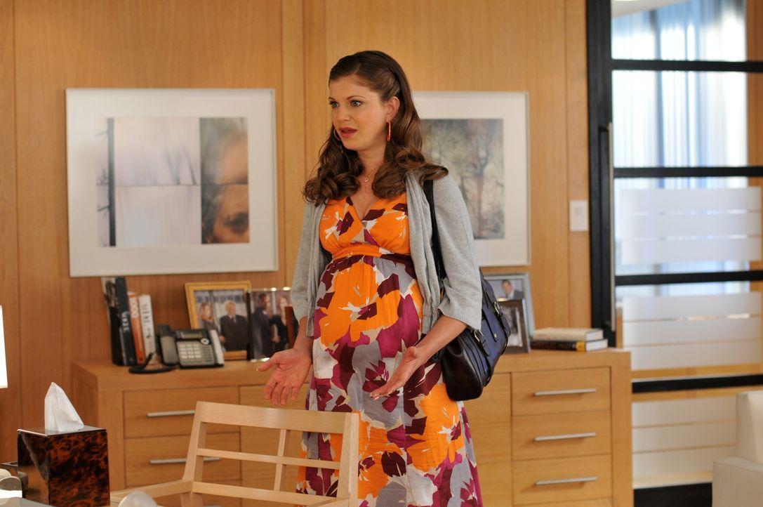Wird Nico die Geliebte ihres toten Mannes, Megan (Shannon McGinnis), die von ihm ein Kind erwartet, finanziell unterstützen? - Bildquelle: NBC, Inc.