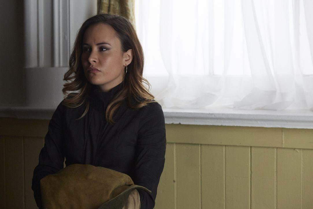 Will und kann Paige (Tommie-Amber Pirie) Elenas Rudel auch bei ihrem ungewöhnlichen Weg unterstützen? - Bildquelle: 2016 She-Wolf Season 3 Productions Inc.