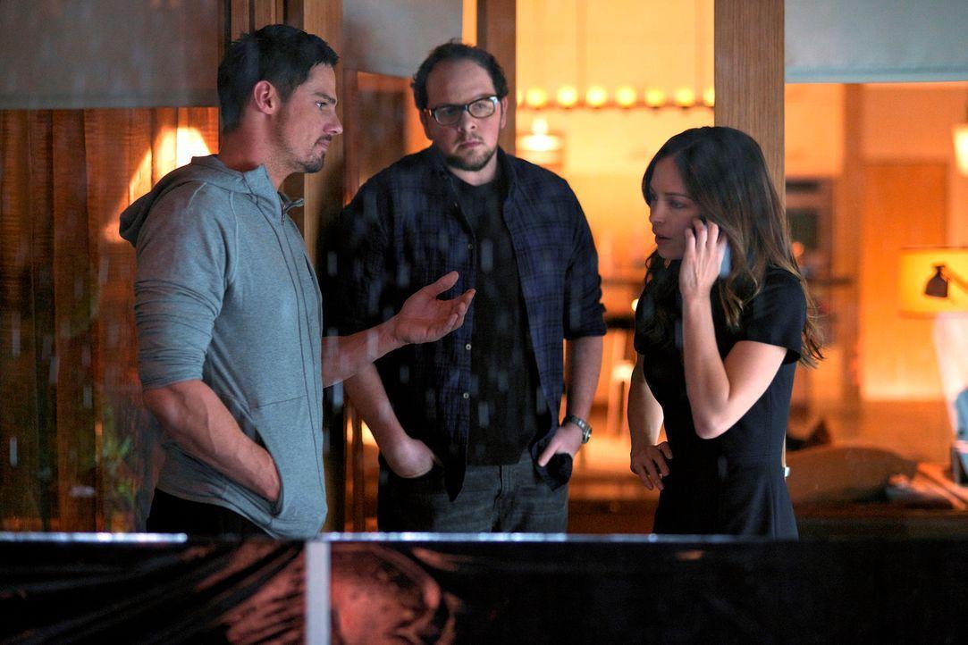 Brauchen schnell einen Plan, damit sie Gabe, der mit einer Journalistin zusammenarbeitet, um Vincents Geheimnisse zu lüften, aufhalten können: Cat (... - Bildquelle: 2013 The CW Network, LLC. All rights reserved.