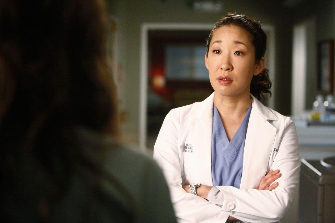 Steht vor einer schwierigen Aufgabe: Cristina (Sandra Oh) ... - Bildquelle: ABC Studios