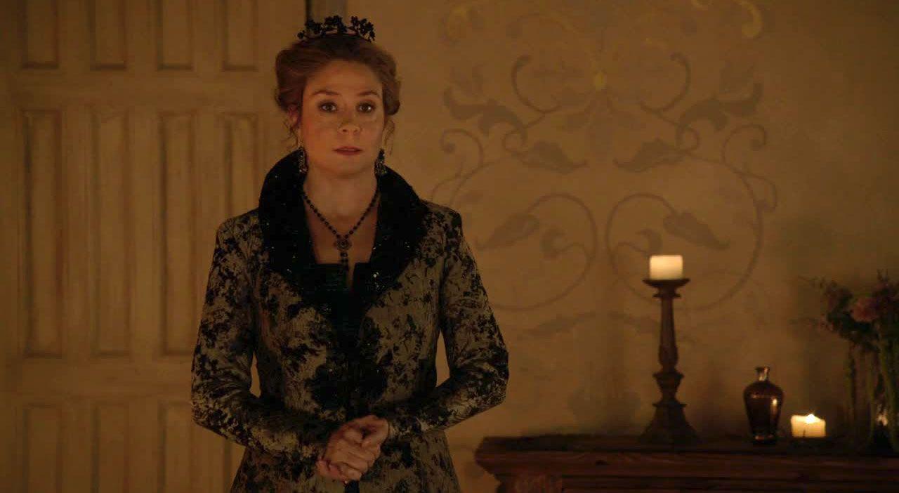 Catherine versucht zu überzeugen - Bildquelle: 2013 The CW Network, LLC. All Rights Reserved.