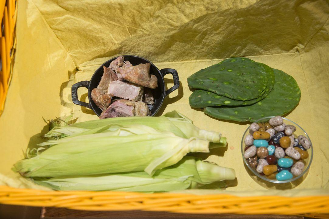Süße Steine, Schwein, Kaktusfeigen und Maiskolben gilt es, in der Chopped-Küche in ein köstliches Gericht zu verwandeln. Wer der Juniorköche macht d... - Bildquelle: Scott Gries 2015, Television Food Network, G.P. All Rights Reserved