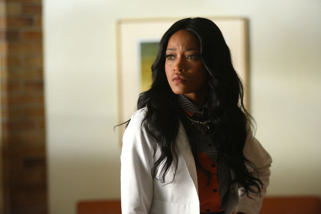 Wie weit wird Zayday (Keke Palmer) gehen, um an das Blut von Jane Hollis zu kommen und es mit dem Blut der Angestellten des Krankenhauses zu verglei... - Bildquelle: 2016 Fox and its related entities.  All rights reserved.