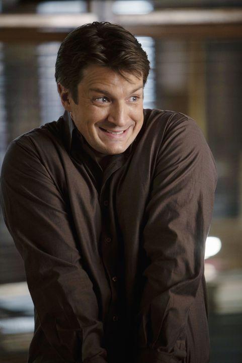Ist für jeden Spaß zu haben: Richard Castle (Nathan Fillion) - Bildquelle: ABC Studios