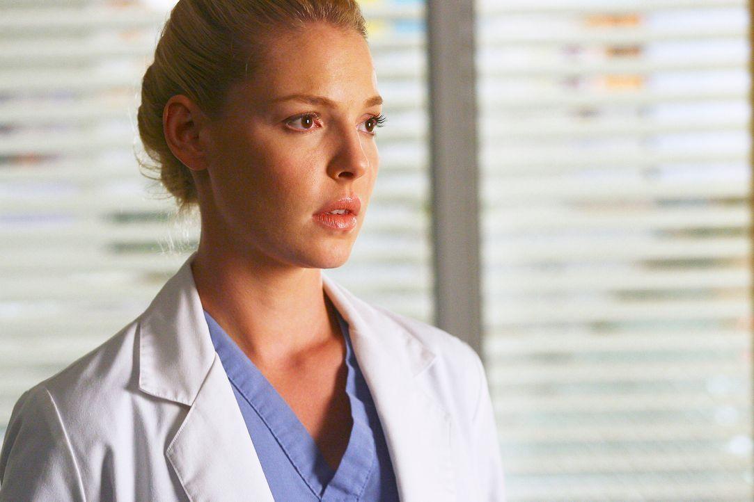 Izzie (Katherine Heigl) macht sich große Sorgen um  George ... - Bildquelle: Touchstone Television