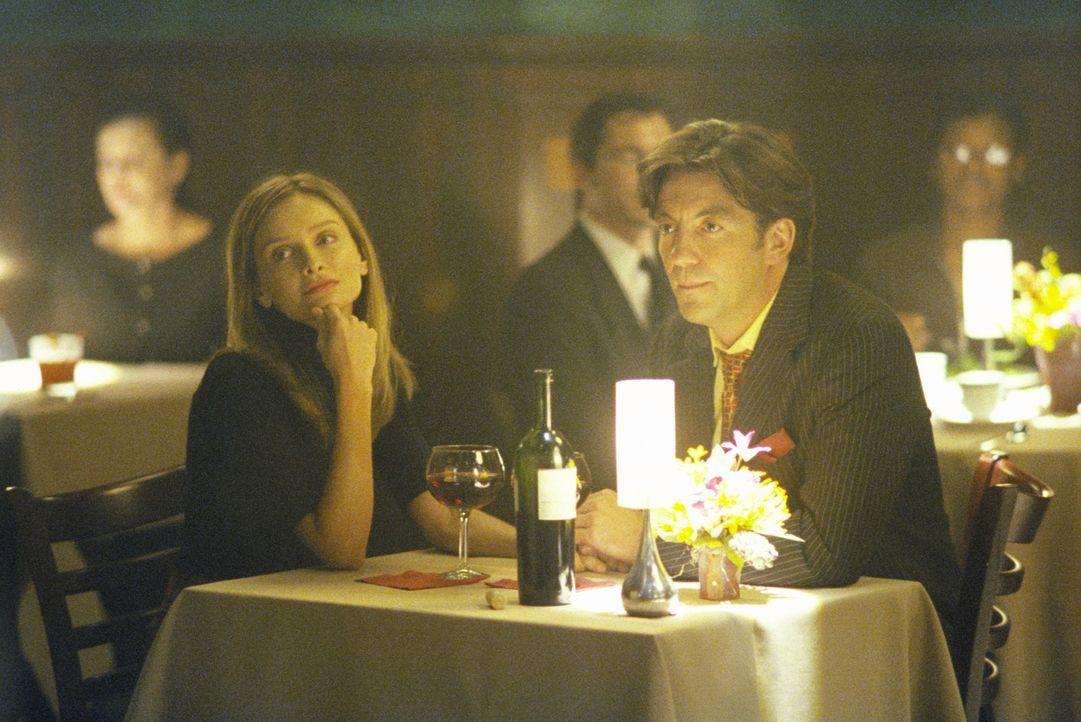 Eigentlich sollte das romantische Candle-Light-Dinner etwas ganz besonderes werden, doch eine unerwartete Frage von Brain (Tim Dutton, r.) stürzt Al... - Bildquelle: 2000 Twentieth Century Fox Film Corporation. All rights reserved.