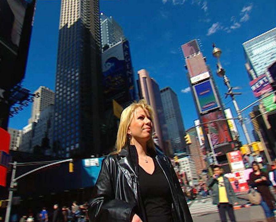 Anja Berger (33) sucht den Mann fürs Leben - einzige Voraussetzung: er ist gut situiert und wohnt in New York City, ihrer Lieblingsstadt! - Bildquelle: ProSieben