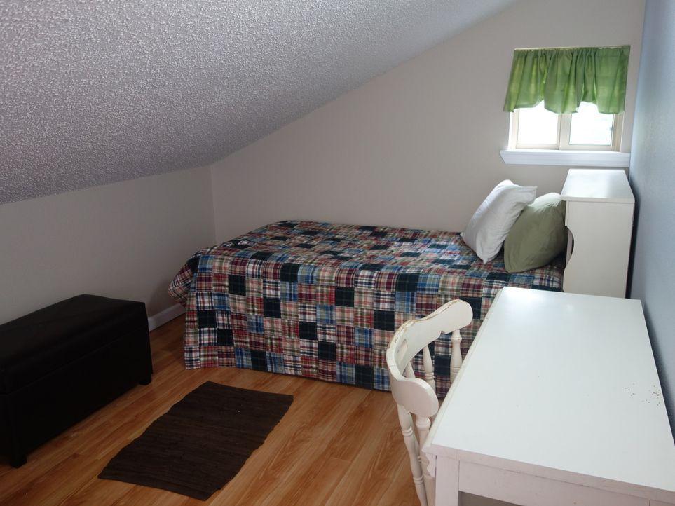 Kann man hier schöne Träume haben? Die Schlafzimmer in Pleasant Valley sagen Herman, Susan und ihren Kindern nicht richtig zu ... - Bildquelle: 2015,HGTV/Scripps Networks, LLC. All Rights Reserved