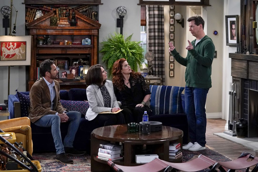 (v.l.n.r.) Will (Eric McCormack); Karen (Megan Mullally); Grace (Debra Messing); Jack (Sean Hayes) - Bildquelle: Chris Haston 2018 Universal Television LLC. ALL RIGHTS RESERVED. / Chris Haston