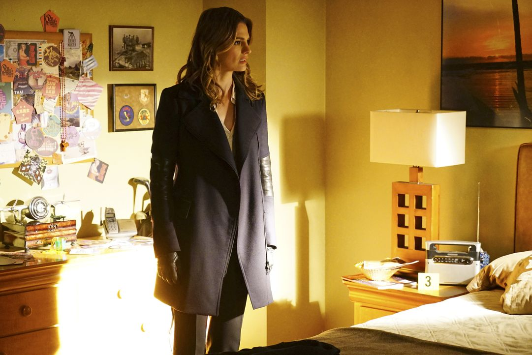 Nach und nach wird Kate (Stana Katic) klar, dass sich ihr Mann doch in Recht und bald in ernsthafter Gefahr befindet ... - Bildquelle: Richard Cartwright ABC Studios / Richard Cartwright