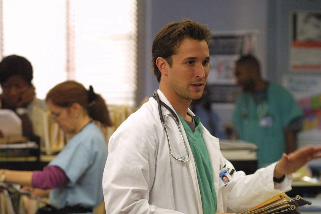 Oberarzt Carter (Noah Wyle) bereut seine Indiskretion gegenüber Abby und ihrer Alkoholsucht ... - Bildquelle: TM+  2000 WARNER BROS.