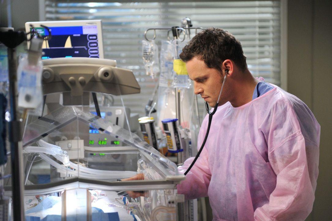 Ein harter Arbeitstag wartet auf Alex (Justin Chambers) und seine Kollegen ... - Bildquelle: ABC Studios