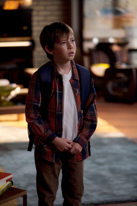 Erfährt Neuigkeiten über Cooper: Mason (Griffin Gluck) ... - Bildquelle: ABC Studios