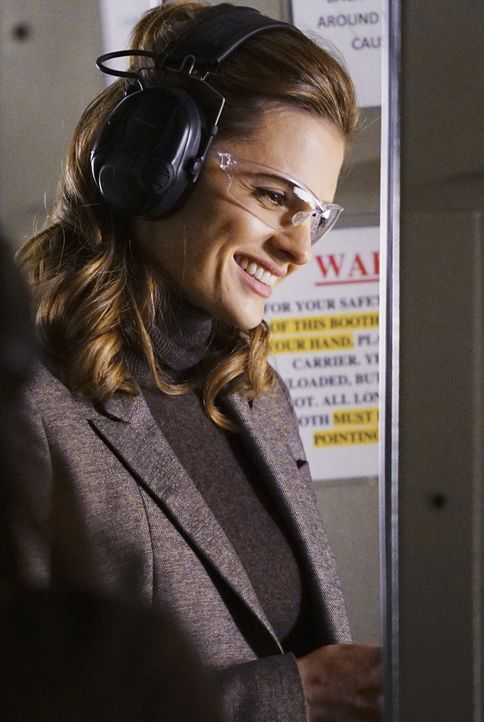 Noch freut sich Kate (Stana Katic), dass sie mit einer richtigen Superpolizistin zusammenarbeitet ... - Bildquelle: Richard Cartwright ABC Studios / Richard Cartwright