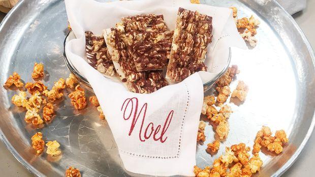 Enies Weihnachtsplätzchen.Popcorn Lebkuchen