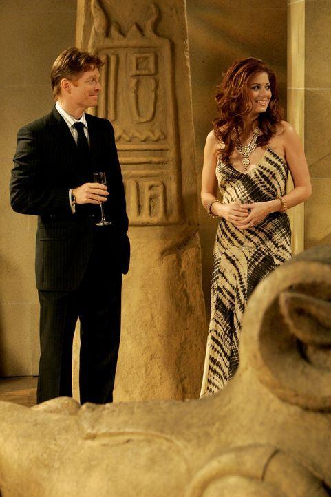 Am Ende eines Benefiz muss Grace (Debra Messing, r.) feststellen, dass Tom (Eric Stoltz, l.) anscheinend doch noch was für sie empfindet ... - Bildquelle: Chris Haston NBC Productions