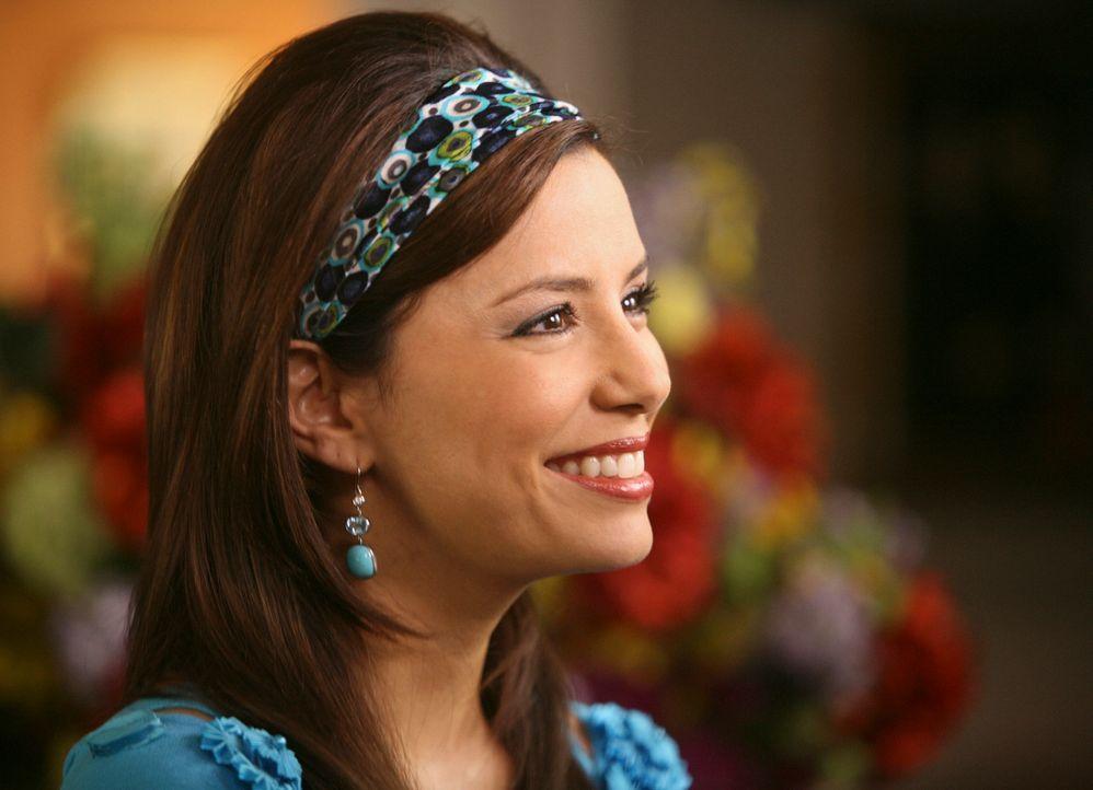 Während Susan bei ihrem Geburtsvorbereitungskurs ihren Ex-Mann Karl und seine neue Frau trifft, versucht Gabrielle (Eva Longoria) herauszufinden, we... - Bildquelle: ABC Studios