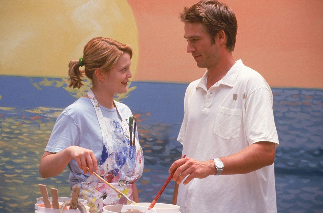 Josie Geller (Drew Barrymore, l.); Sam Coulson (Michael Vartan, r.) - Bildquelle: 1999 Twentieth Century Fox Film Corporation.  All rights reserved.