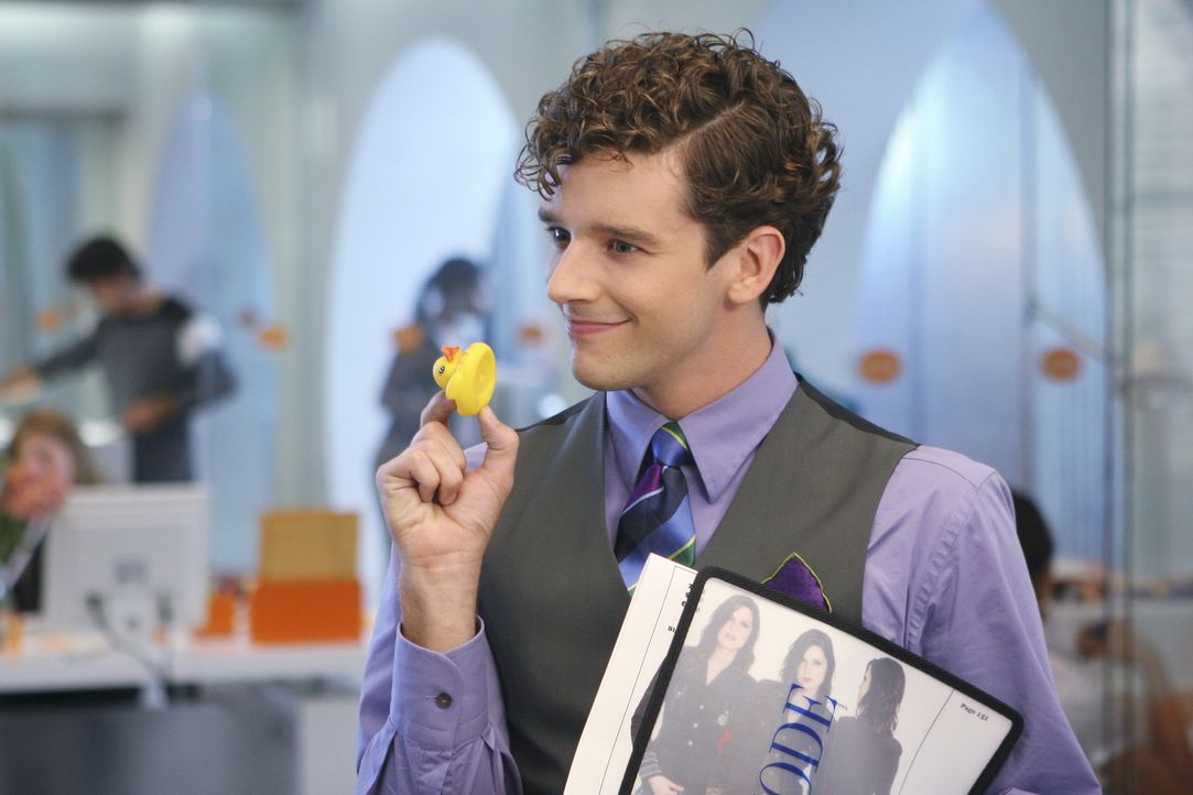 Findet Bettys Dekoration sehr amüsant: Marc (Michael Urie) ... - Bildquelle: Buena Vista International Television
