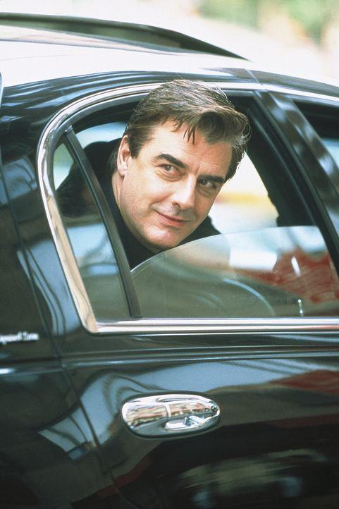 Carries Rettung naht: Big (Chris Noth) in seiner Limousine. - Bildquelle: Paramount Pictures