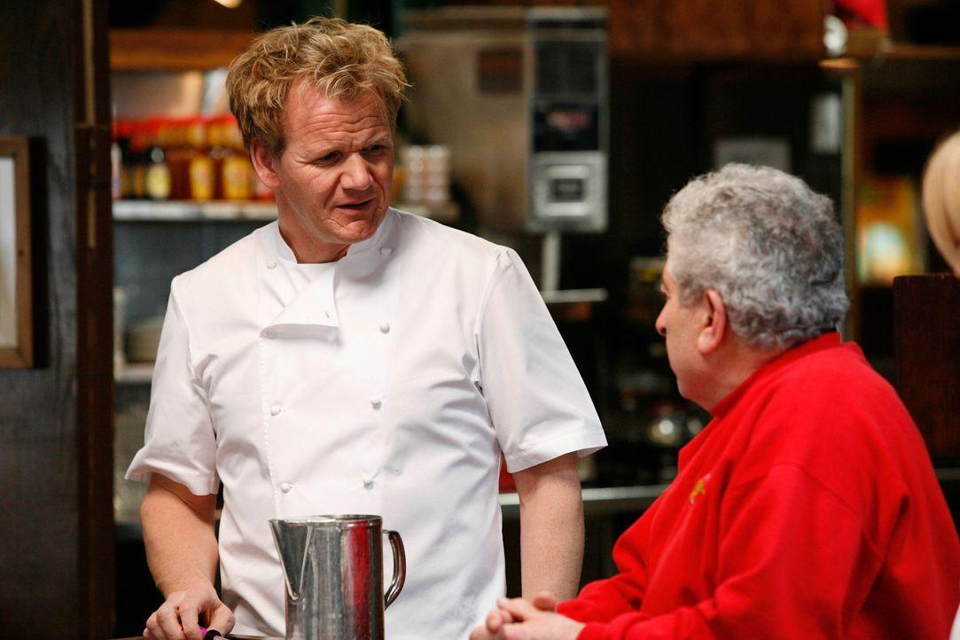 Gordon Ramsay: Viele Diskussionen mit dem Küchenpersonal - Bildquelle: Fox Broadcasting. All rights reserved.