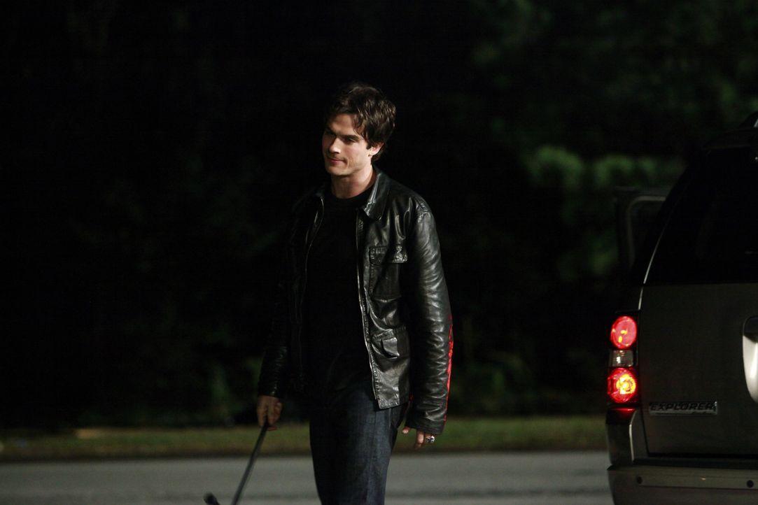 Logan ist zurückgekehrt und sorgt für jede Menge Ärger, dem Damon (Ian Somerhalder) ein Ende setzen möchte. - Bildquelle: Warner Brothers
