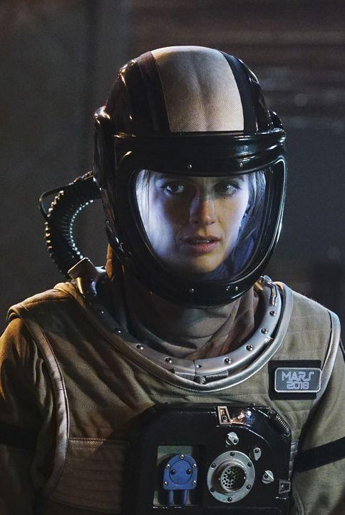 Weil die Crew ihre Basis nicht verlassen hat und es kein Eindringen von Außen in die Simulation gab, ist Kate (Stana Katic) ratlos, wer der Mörder s... - Bildquelle: Richard Cartwright ABC Studios / Richard Cartwright