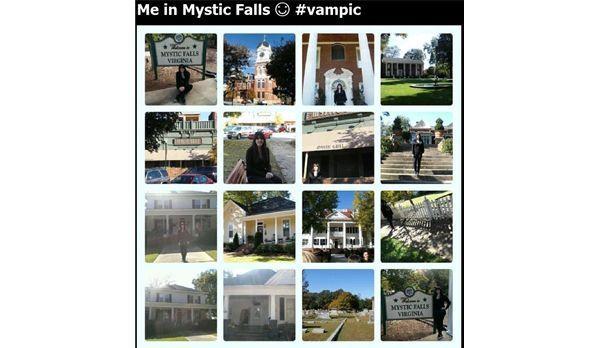 VamPic: Besuch in Mystic Falls - Bildquelle: Instagram/Jessy2711
