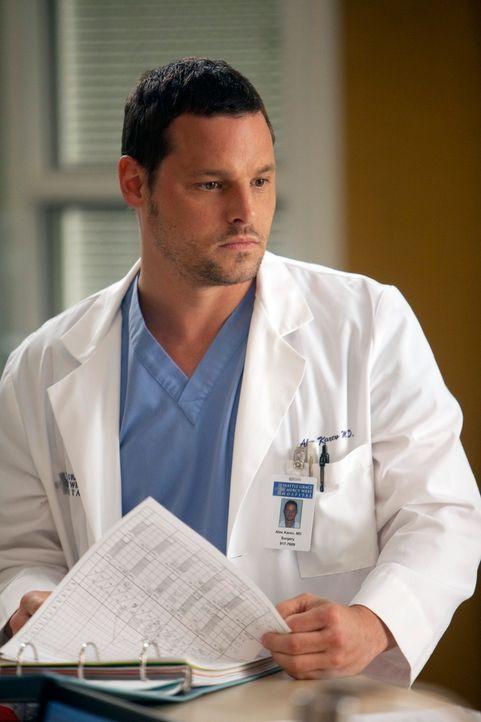 Während Cristina sich zwischen ihrer Karriere und ihrer Beziehung entscheiden muss, ist sich Alex (Justin Chambers) nicht sicher, ob er alles richti... - Bildquelle: ABC Studios