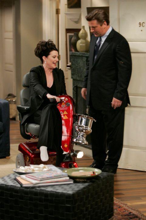 Will versucht alles, um die Nachricht, dass ihr Gatte Stanley Walker noch am Leben ist, vor Karen (Megan Mullally, l.) zu verheimlichen, denn sie gl... - Bildquelle: NBC Productions