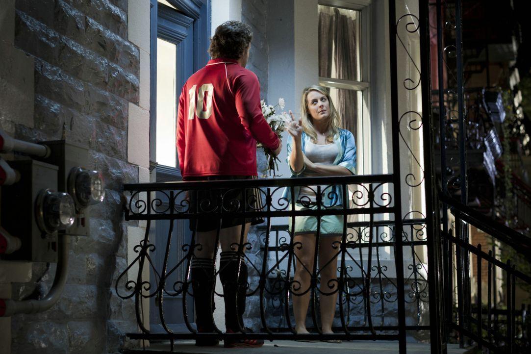 Obwohl Valérie (Julie LeBreton, r.) schwanger ist, will sie die Trennung von David (Patrick Huard, l.), denn sie ist sich ziemlich sicher, dass ihr... - Bildquelle: Ascot Elite Home Entertainment GmbH
