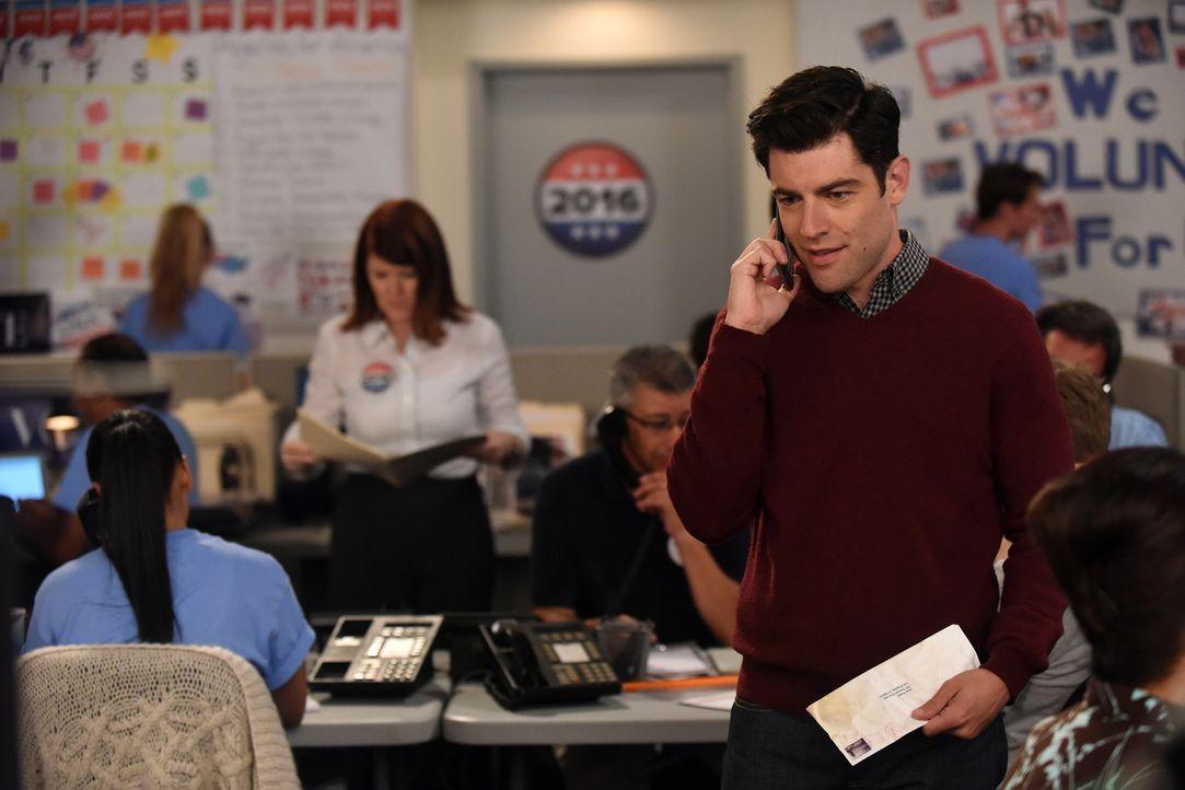 Noch ahnt Schmidt (Max Greenfield) nicht, dass eine Wette, die er mit Jess und Cece eingeht, schon bald weite Kreise ziehen wird ... - Bildquelle: 2017 Fox and its related entities.  All rights reserved.