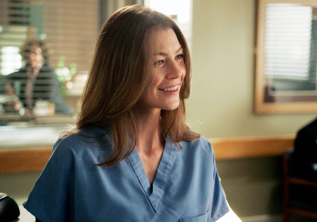 Um Meredith (Ellen Pompeo) aus der Schusslinie zu nehmen, behauptet Callie, dass die Unterhose am Schwarzen Brett ihr gehöre ... - Bildquelle: Touchstone Television