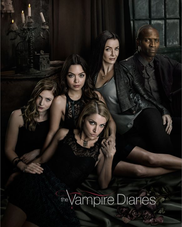 (7. Staffel) - Vampire Diaries - Artwork - Bildquelle: Warner Bros. Entertainment, Inc.