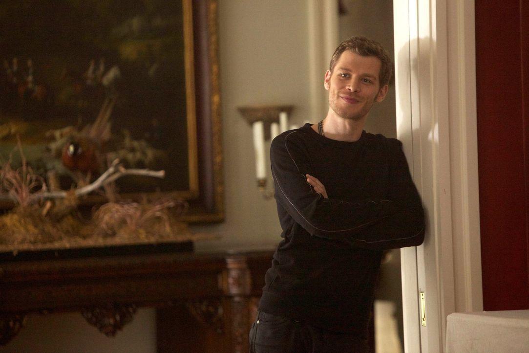 So einfach lässt sich Klaus (Joseph Morgan) das Zepter nicht aus der Hand nehmen, denn es kann nur einen König geben ... - Bildquelle: Warner Bros. Television