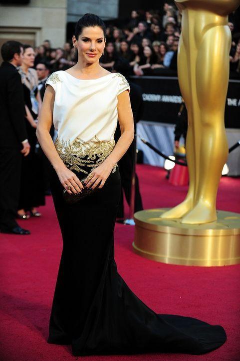 Sandra Bullock auf dem Roten Teppich 2012 - Bildquelle: AFP