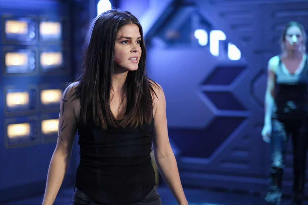 Octavia Blake (Marie Avgeropoulos) - Bildquelle: Robert Falconer 2019 The CW Network, LLC. All Rights Reserved. / Robert Falconer