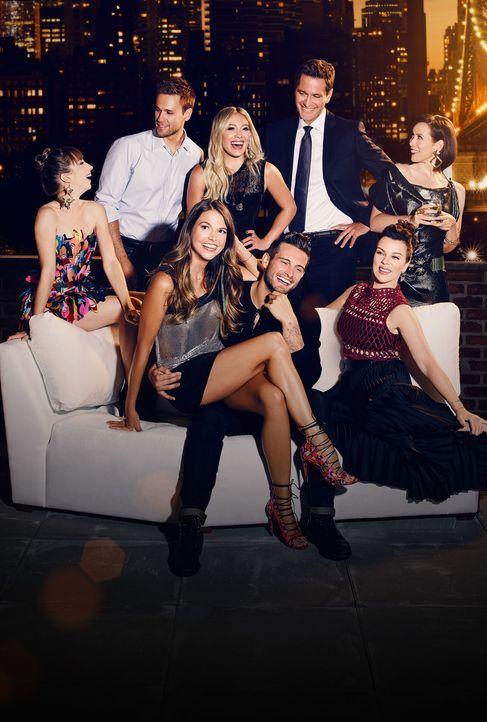 (2. Staffel) - (hinten v.l.n.r.) Lauren (Molly Bernard); Thad (Dan Amboyer); Kelsey (Hilary Duff); Charles (Peter Hermann); Diana (Miriam Shor); (vo... - Bildquelle: Hudson Street Productions Inc 2016