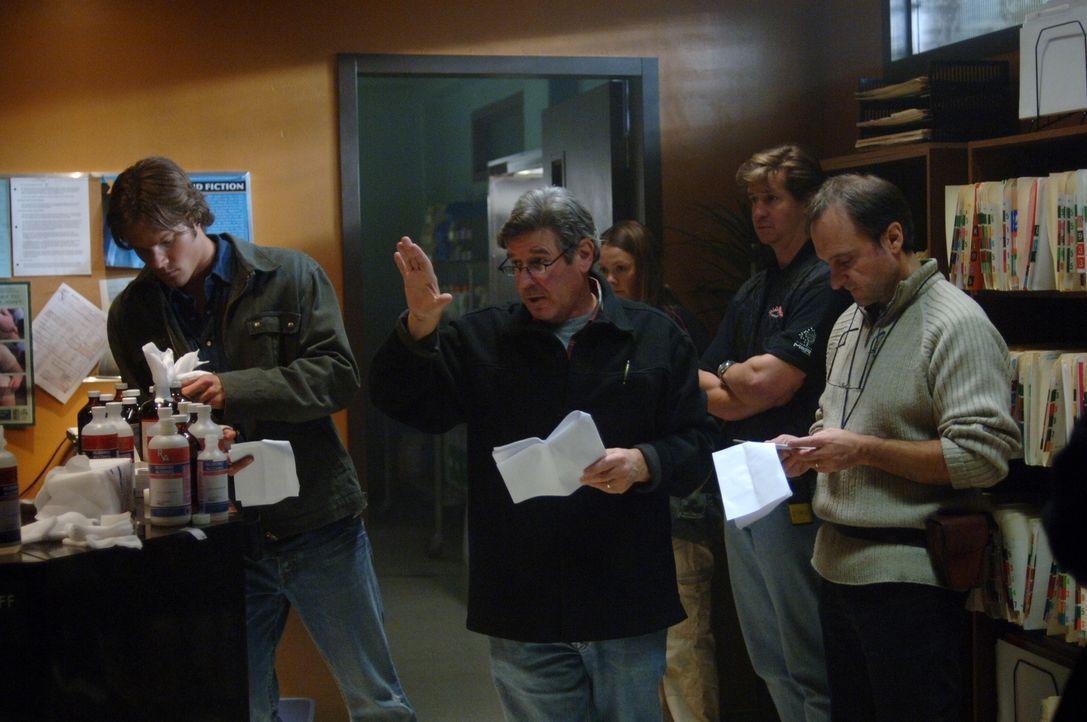 """Bei den Dreharbeiten zu """"Supernatural"""" .. - Bildquelle: Warner Bros. Television"""