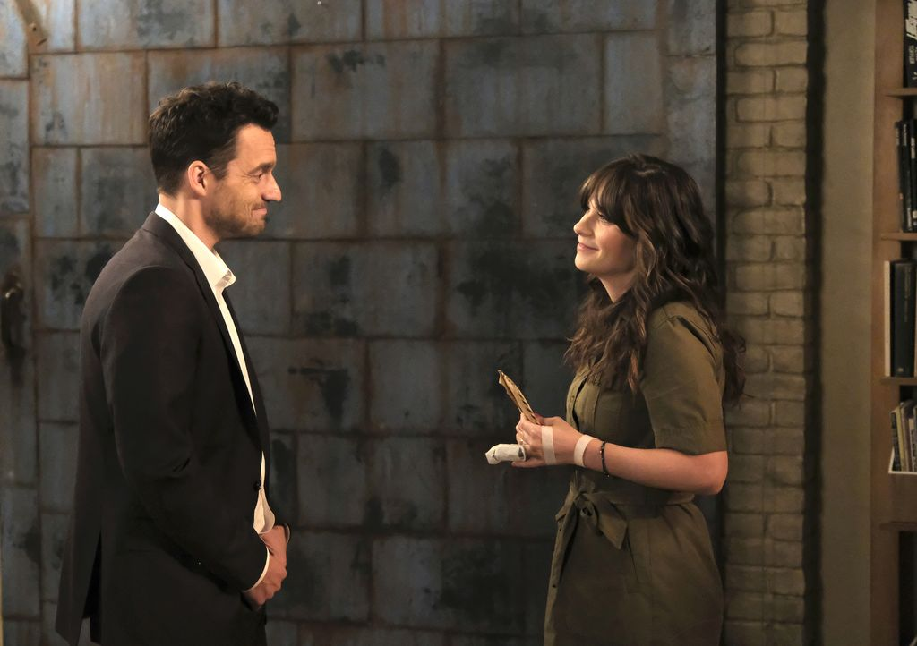 Nick (Jake Johnson, l.) hat eine ganz besondere Überraschung für Jess (Zooey Deschanel, r.) geplant. Doch seine Pläne werden immer wieder durchkreuz... - Bildquelle: Ray Mickshaw 2018 Fox and its related entities.  All rights reserved.