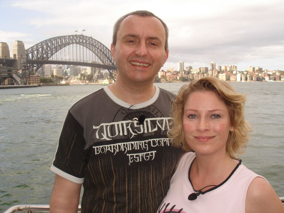 Christine Kurpitz (37) ist absoluter Australienfan. Als sie ihren Mann Vladan (40) kennen lernte, musste er versprechen irgendwann mit ihr nach Aust... - Bildquelle: kabel eins