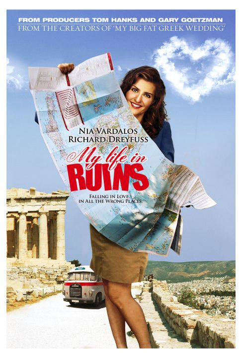 """My Big Fat Greek Summer"" - Plakatmotiv - Bildquelle: 2008 My Life In Ruins, LLC All Rights Reserved"