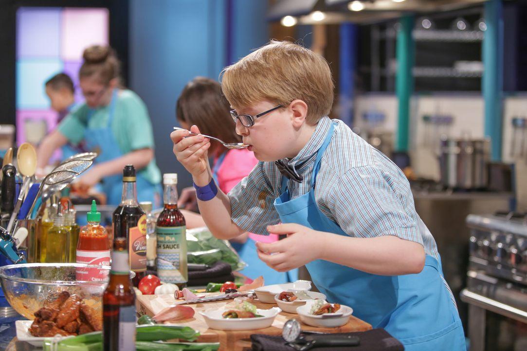 Riesen-Sandwich und Blauschimmelkäse - Bildquelle: Susan Magnano 2016, Television Food Network, G.P. All Rights Reserved/Susan Magnano