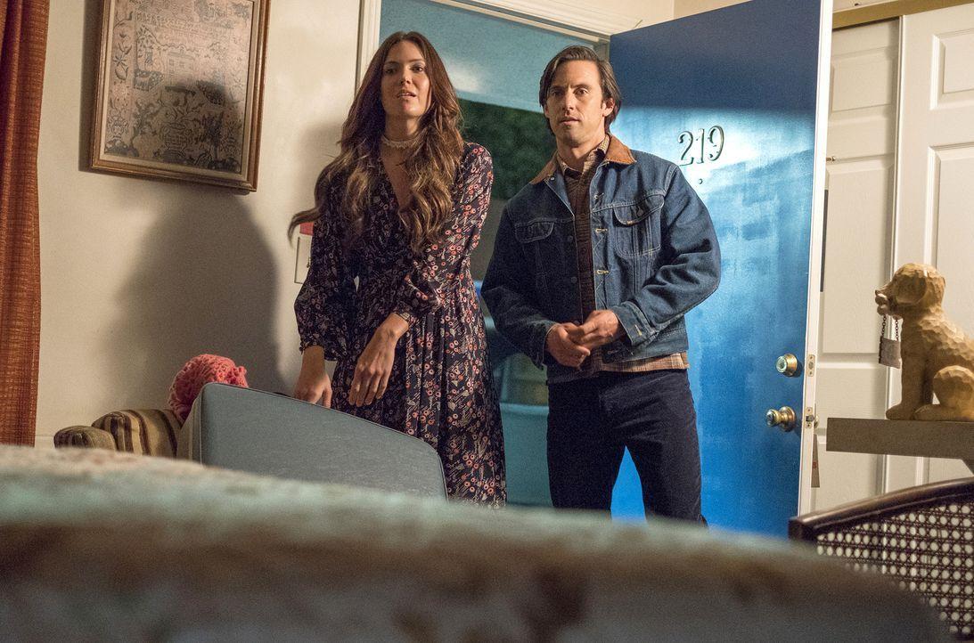 Rebecca Malone (Mandy Moore, l.); Jack Pearson (Milo Ventimiglia, r.) - Bildquelle: Ron Batzdorff 2018-2019 NBCUniversal Media, LLC.  All rights reserved./Ron Batzdorff