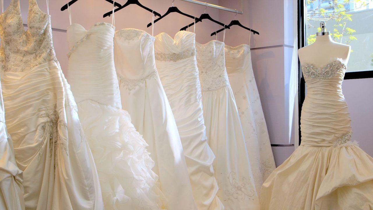 Für jede Frau ist es ein ganz besonderer Moment, das perfekte Hochzeitskleid zu tragen und zu wissen, dass der große Tag endlich kommen kann ... - Bildquelle: Copyright 2012 All Rights Reserved  KPD Productions Inc.