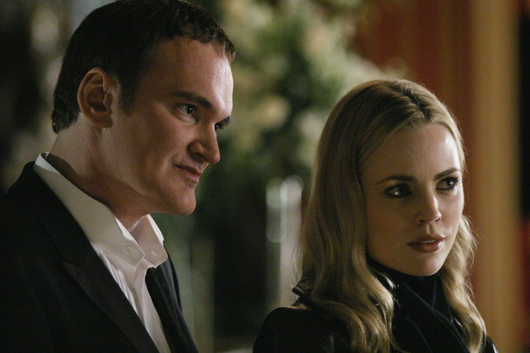 Lauren Reed (Melissa George, r.) hat McKenas Cole (Quentin Tarantino, l.) bereits über die Morde aufgeklärt ... - Bildquelle: Touchstone Television