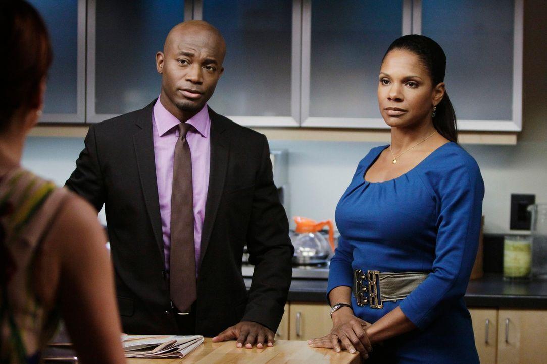 Als sich herausstellt, das Addison (Kate Walsh, l.) wieder anbandeln möchte, sind Sam (Taye Diggs, M.) und Naomi (Audra McDonald, r.) geschockt, da... - Bildquelle: ABC Studios