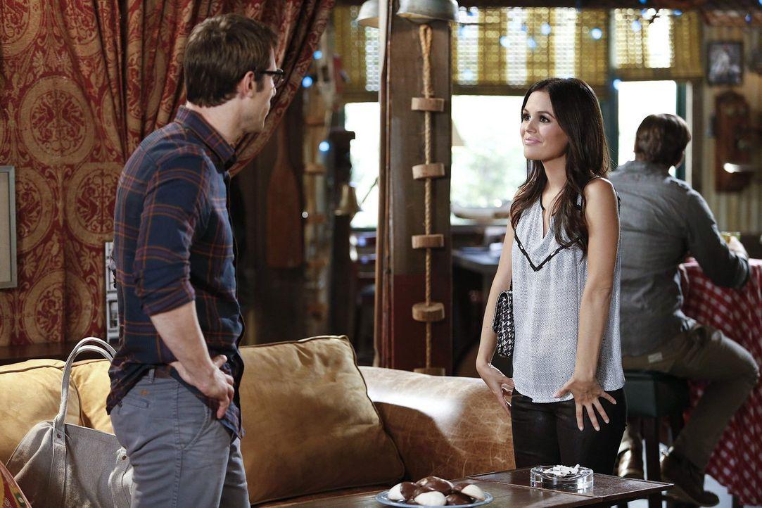 Mit allen Mitteln versucht Zoe (Rachel Bilson, r.) ihren Freund Joel (Josh Cooke, l.), von seinem neuen Kumpel Wade fernzuhalten ... - Bildquelle: Warner Brothers